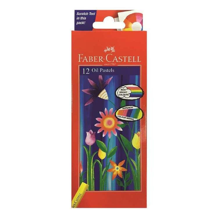 Faber Castell 12 Pack Oil Pastels