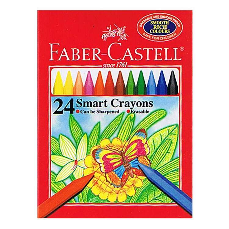 Faber-Castell Smart Crayons 24 Pack