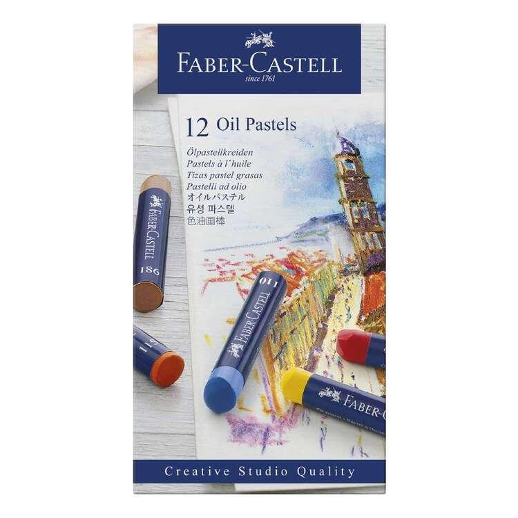 Faber Castell Creative Studio 12 Pack Oil Pastels
