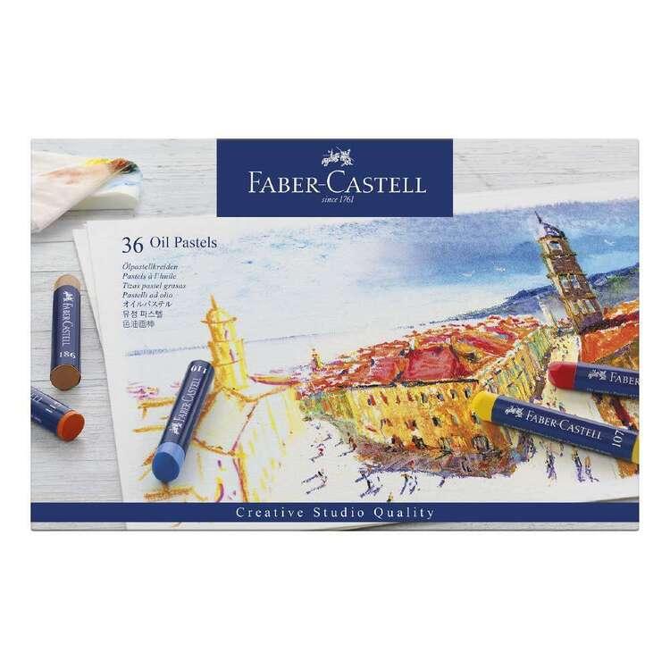 Faber Castell Creative Studio 36 Pack Oil Pastels