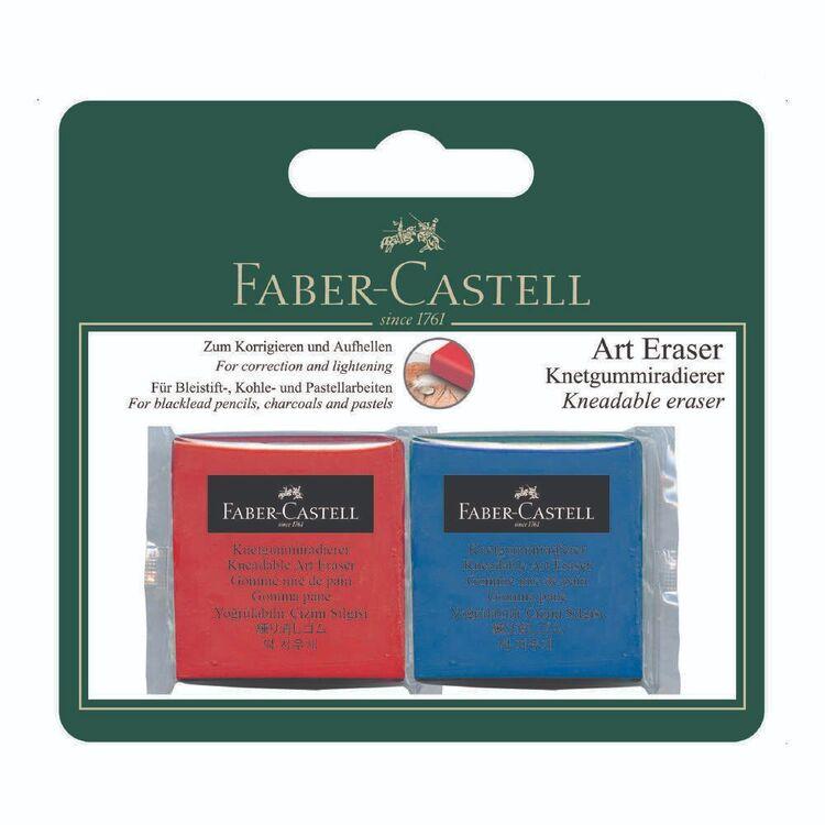 Faber Castell Artist Kneadable Eraser 2 Pack