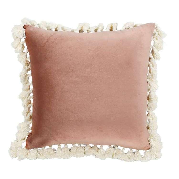 Ombre Home Wild Flower Tassel Cushion