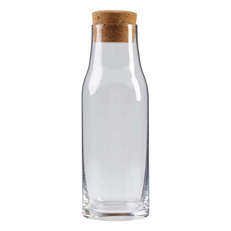 Culinary Co Glass Bottle With Cork Lid