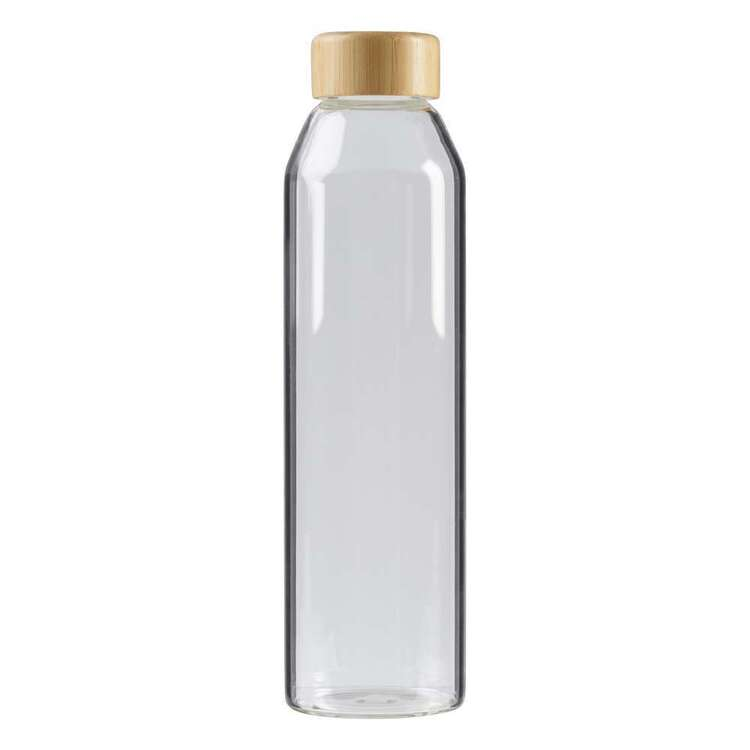 Culinary Co Glass Bottle With Bamboo Lid