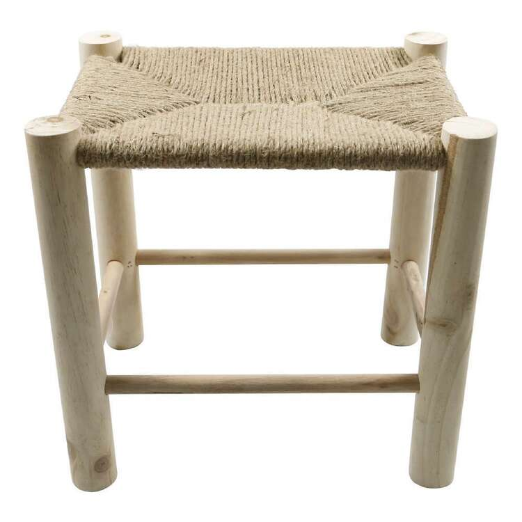 Ombre Home Wild Flower Stool With String