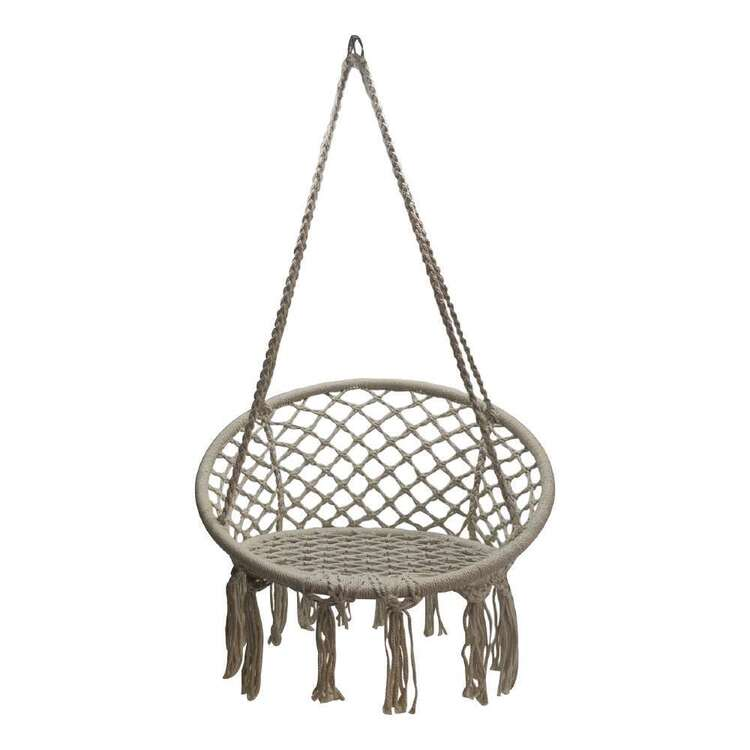 Ombre Home Wild Flower Hang Macrame Chair