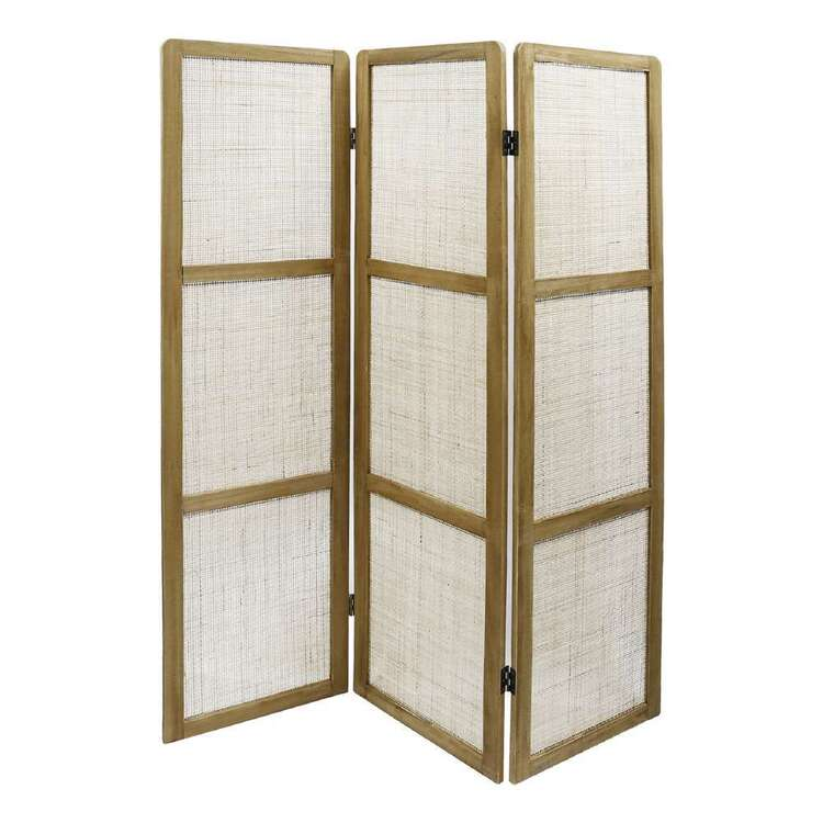 Ombre Home Wild Flower Rattan Room Divider