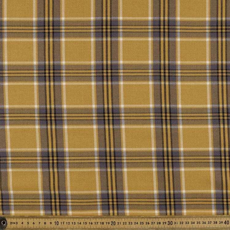 Check #5 Printed Yarn Dyed Poly Viscose Spandex Rayon Fabric