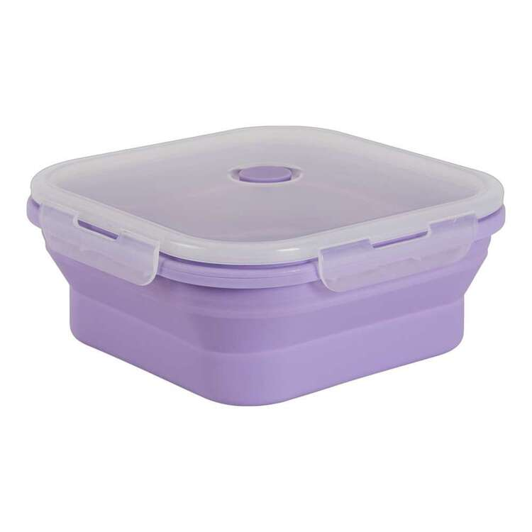 Living Space Collapsible Square Food Container