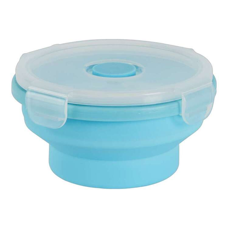 Living Space Collapsible Round Food Container
