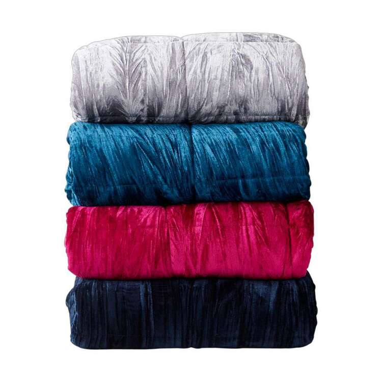 KOO Crushed Velvet Blanket