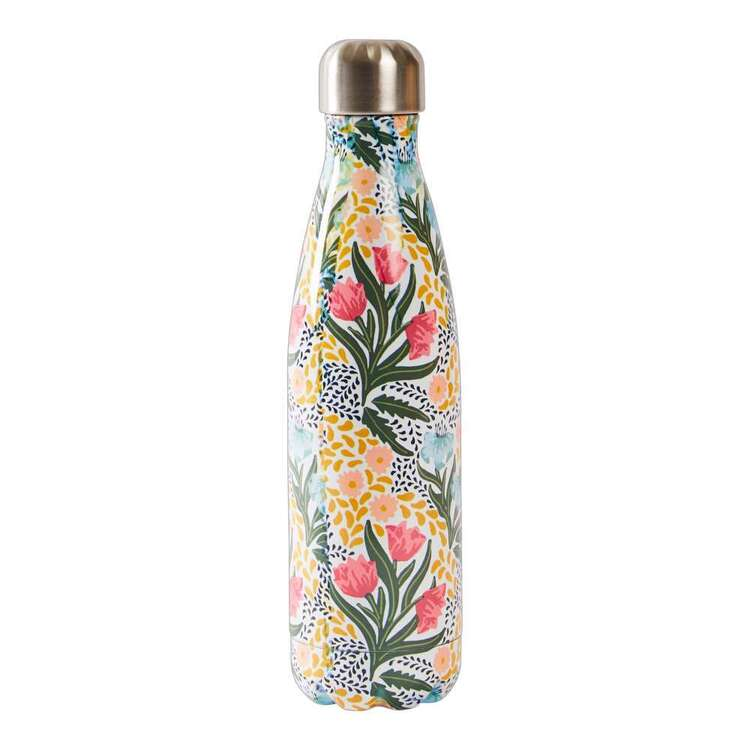 Dine By Ladelle Retro Stainless Steel Drink Bottle