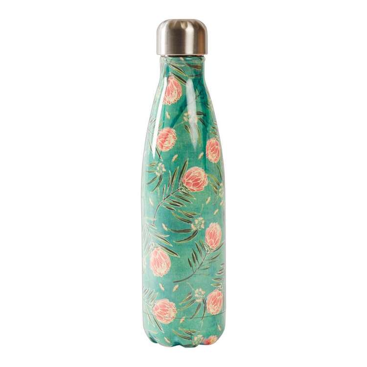 Dine By Ladelle Protea Stainless Steel Drink Bottle