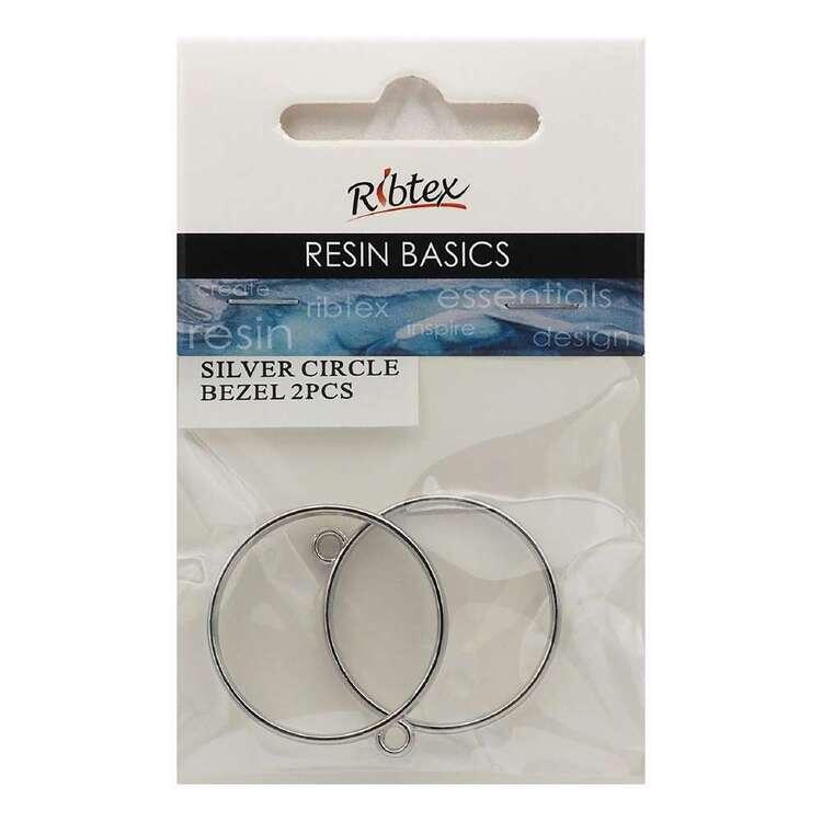 Ribtex Resin 2 Pieces Cricle Bezel Frame