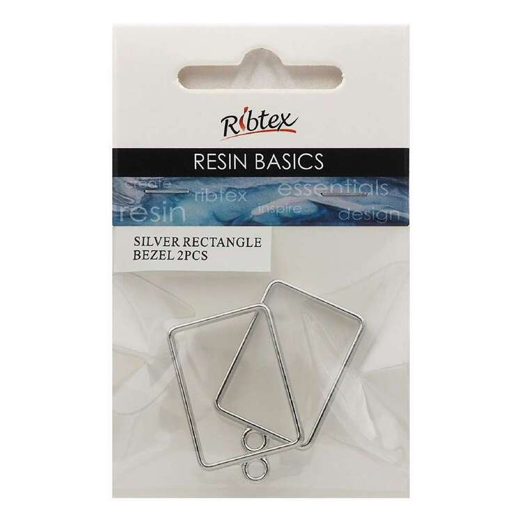 Ribtex Resin 2 Pieces Rectangle Bezel Frame