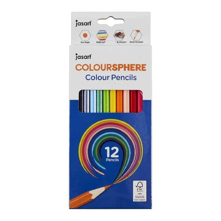 Jasart Coloursphere Colour Pencils Set