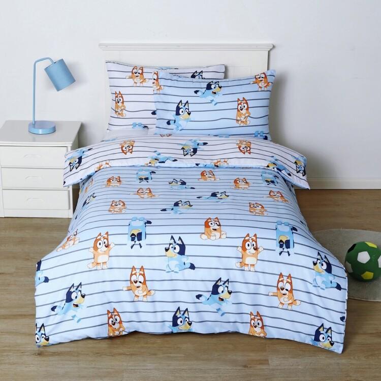 Bluey Flannelette Quilt Cover Set
