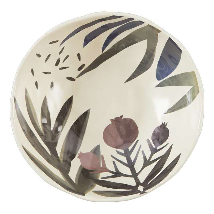 Dine By Ladelle Autumn Leaves Large Bowl