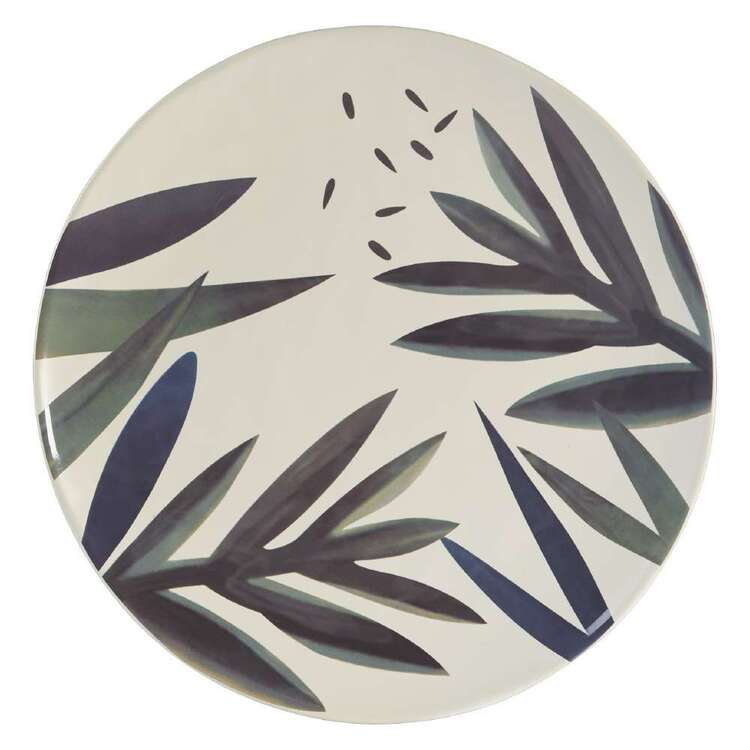 Dine By Ladelle Autumn Leaves Large Round Platter