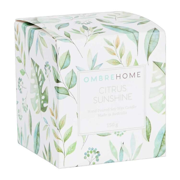 Ombre Home Country Living Citrus Sunshine Boxed Candle
