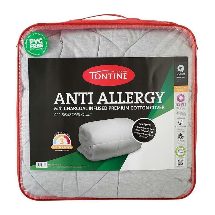 Tontine Anti Allergy Charcoal Infused Quilt