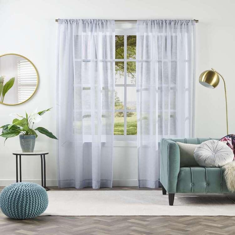 KOO Luxe Wave Sheer Rod Pocket Curtains