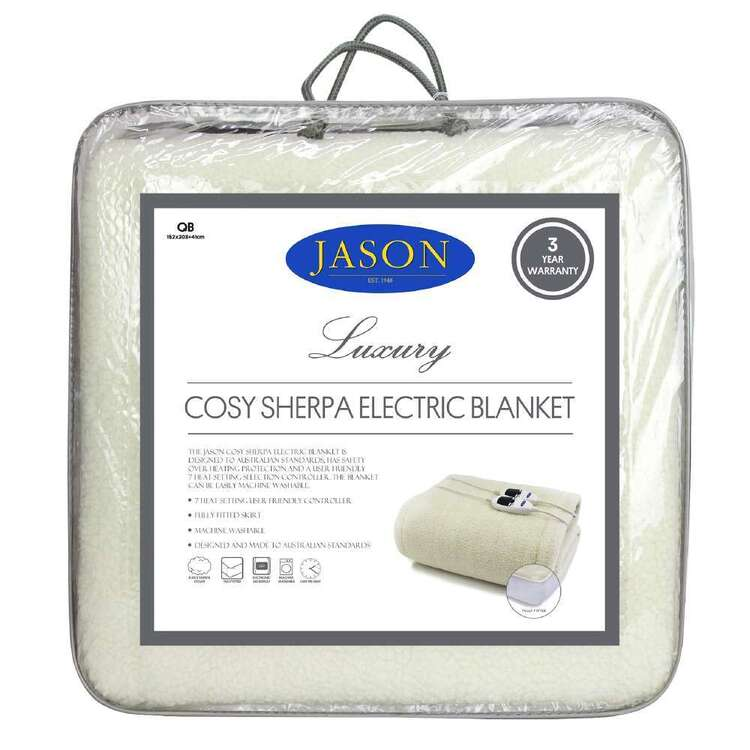 Jason Cosy Sherpa Electric Blanket