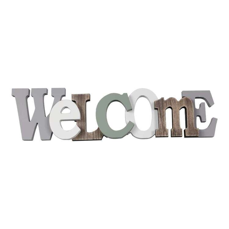 Ombre Home Country Living Deco Welcome Sign