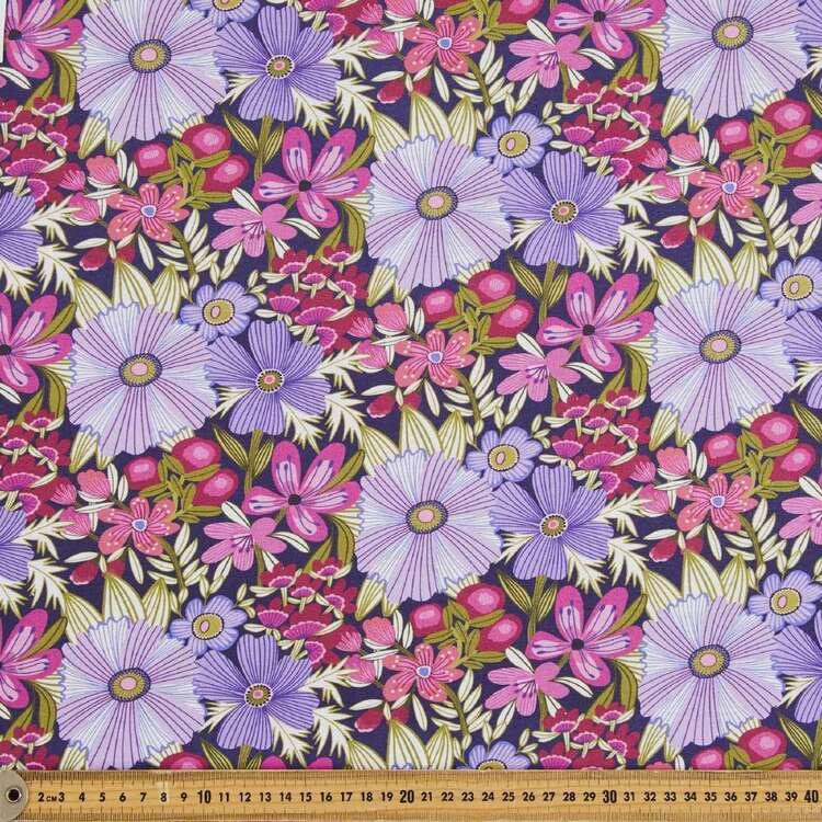 Kirsten Katz Viola Grande Flora Cotton Fabric
