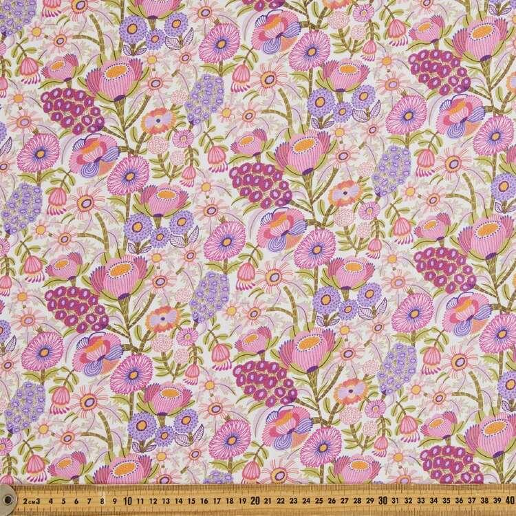 Kirsten Katz Viola Small Hyacinths Cotton Fabric