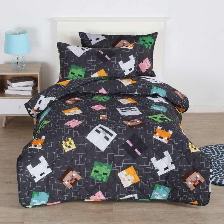 Minecraft Quilted Comforter