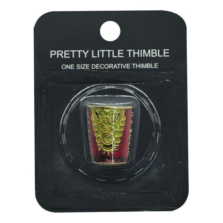 Cloisonné Thimble