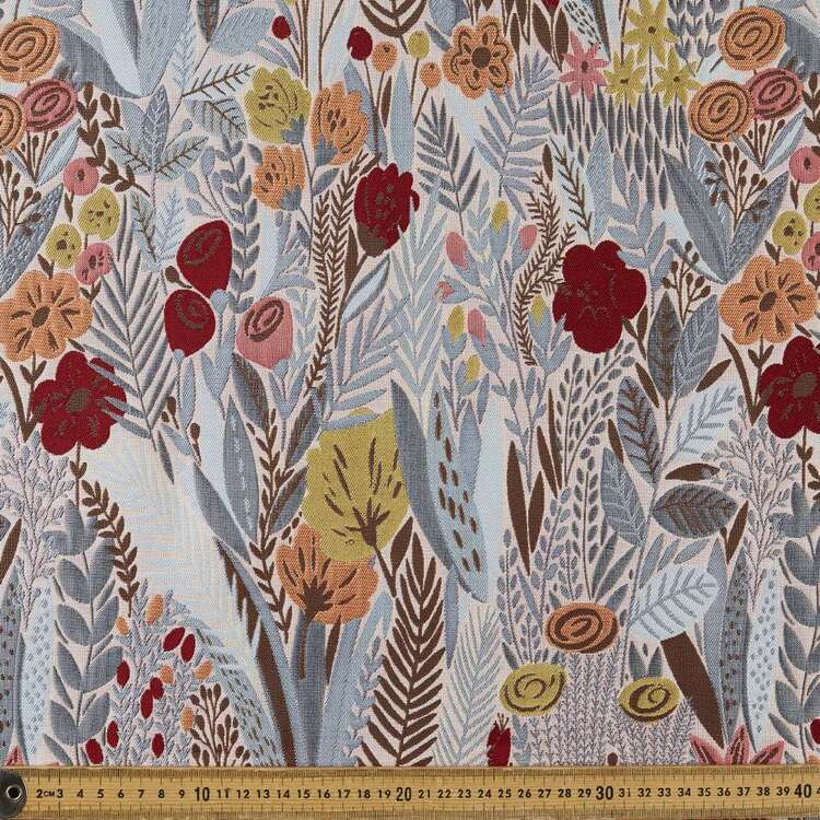 Flora Fantasy Printed 140 cm Brocade Fabric