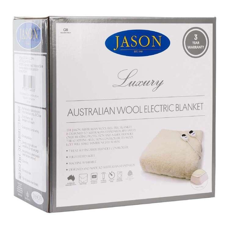 Jason Australian Wool Electric Blanket