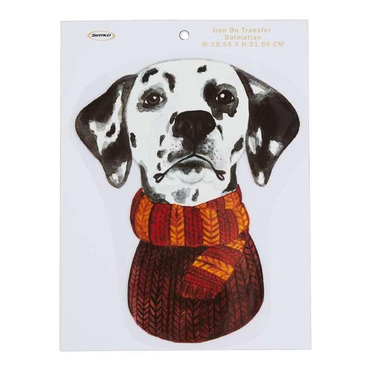 Semco Doggo Dalmatian Iron On Transfer
