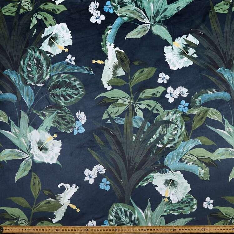 Galena Nohea Floral 150 cm Upholstery Velvet