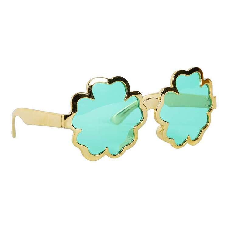 Spartys St. Patrick's Day Novelty Shamrock Glasses