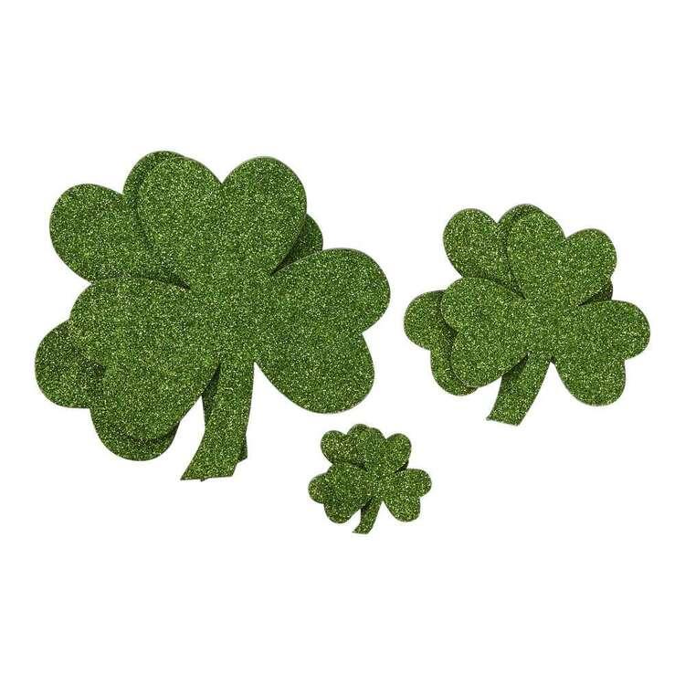 Spartys St. Patrick's Day Stick-On Shamrocks