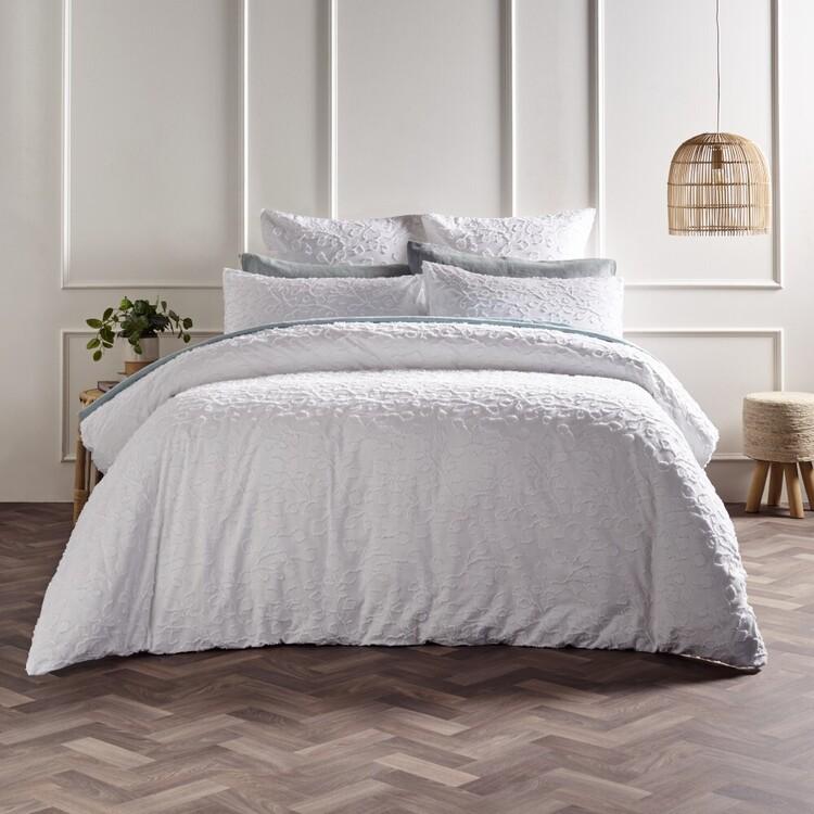 White Home Tahlia Quilt Cover Set