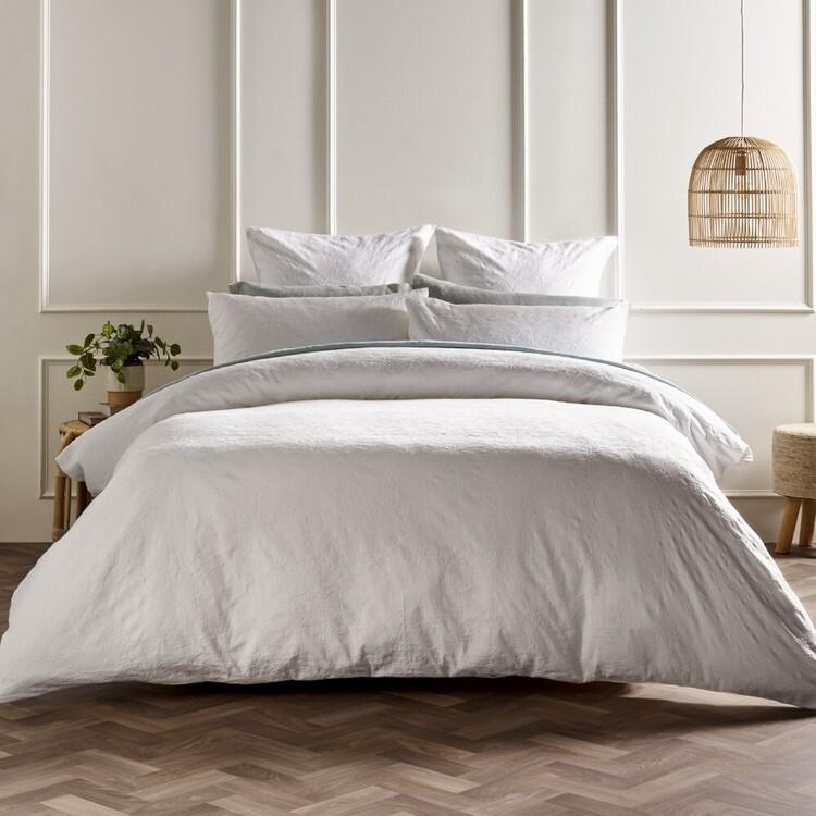 White Home Hanna Quilt Cover Set