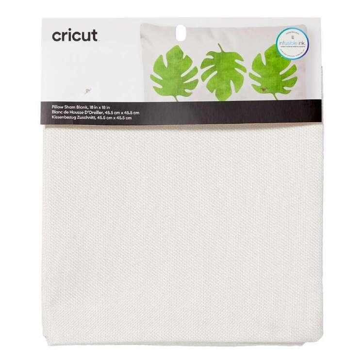 Cricut Cream Blank Pillow Cover
