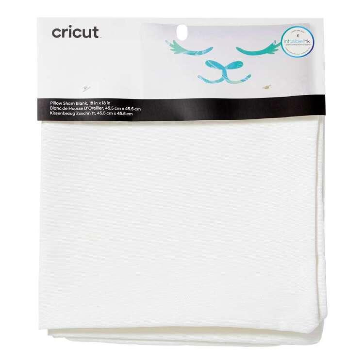 Cricut White Blank Pillow Cover