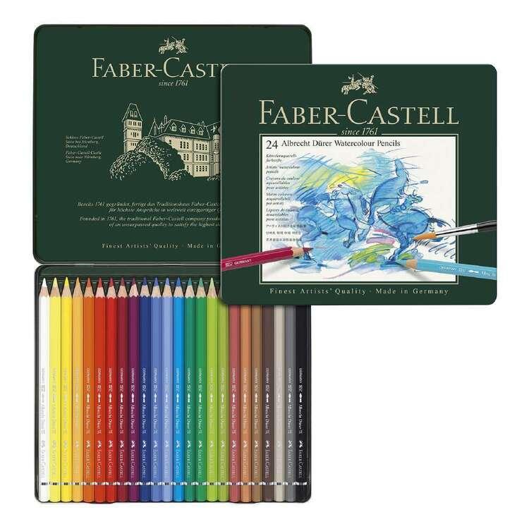 Faber Castell A.Duerer Watercolour Pencl Tin