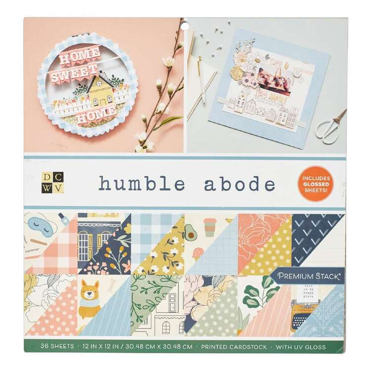 Die Cuts With A View Humble Abode Paper Pad