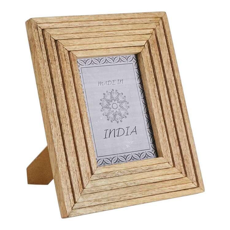 Living Space Wooden Medium Photo Frame