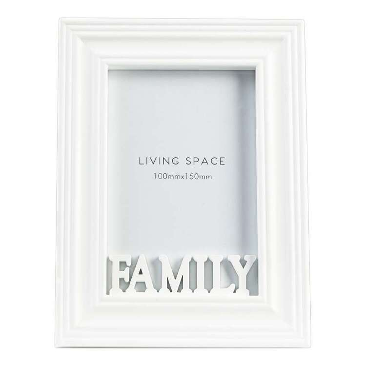 Living Space Family Photo Frame