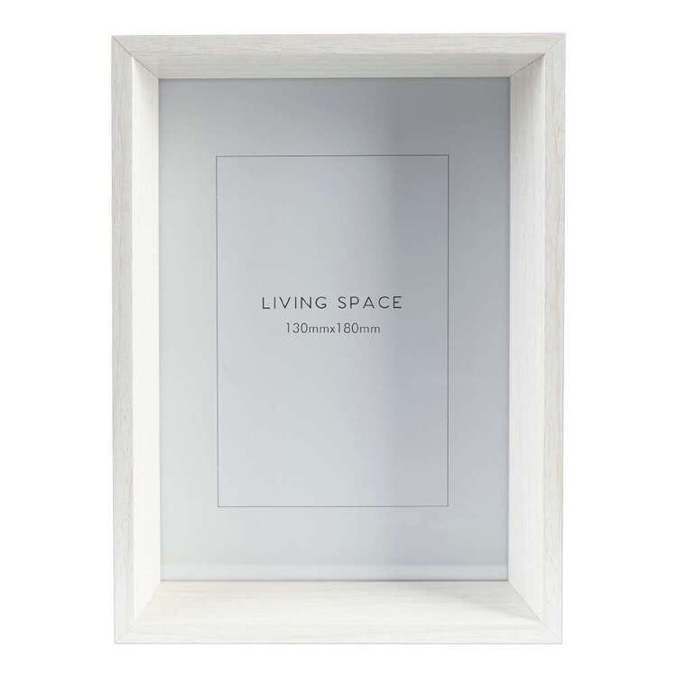 Living Space Bevelled Photo Frame