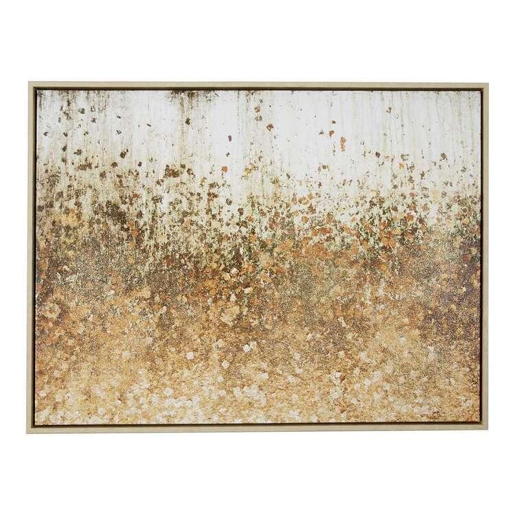 Cooper & Co Cocoon Comfort Glitter Leaf Canvas Print