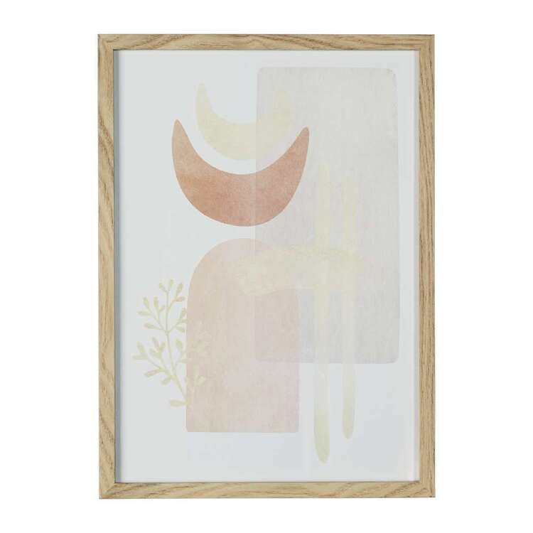 Cooper & Co Cocoon Comfort Water Colour Composition #1 Framed Print
