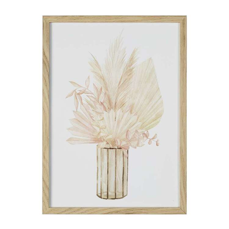 Cooper & Co Cocoon Comfort Water Colour Pampas Framed Print